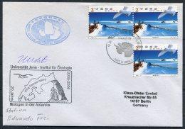 2005-6 China Antarctica Antarctic, King Geoge Island. Penguin, Jena University Germany Polar Research Expedition Cover - 1949 - ... Volksrepubliek