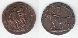 *** GREAT-BRITAIN - ENGLAND - JETON - TOKEN - AM I NOT THINE ASS - MAN OVER MAN HE MADE NOT LORD *** ACHAT IMMEDIAT !!! - Royaux/De Noblesse