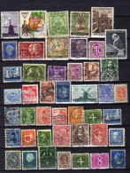 Lot Timbres Divers Pays - 2 Scans - Timbres