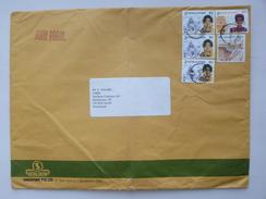 SINGAPORE => SWITZERLAND / SCHWEIZ // 1994, Commercial Oversize Air Mail Cover