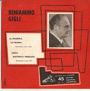 """Beniamino Gigli La Spagnola-La Paloma-Lolita-Mattinata Veneziana NM/NM 7"""" - Other - Italian Music"""