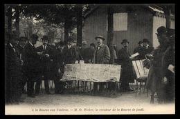 PARIS PETITS METIERS Bourse Aux Timbres M.O. WEBER Créateur De La Bourse De Jeusi - Petits Métiers à Paris