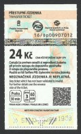 Czech Republic, Prague, Subway Ticket, Used - Subway