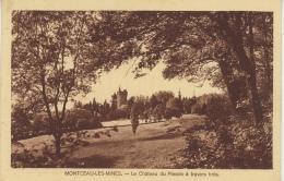 MONTCEAU LES MINES - Le Château Du Plessis à Travers Bois - Montceau Les Mines