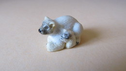 FEVE OURS POLAIRE / OURSE BLANC ET OURSON - Animals