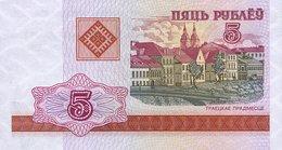 Bielorrusia 2000, 5 Rublos (UNC) - Belarus