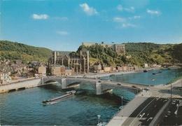België : Huy - Le Pont,la Collégiale Et Le Fort. - Huy
