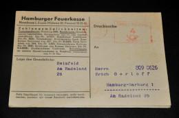 262- Hamburger Feuerkasse - Banco & Caja De Ahorros