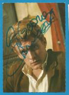 """(A290) Signature / Dédicace / Autographe Original De Christophe - Chanteur - """"Aline"""".... - Autographes"""