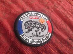 écusson Tissu Police - Patches