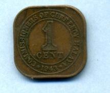 1943 1 CENT - Malaysie