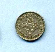 1971 1/4 DE RUPEE - Mauritius