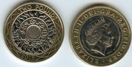 Grande Bretagne Great Britain 2 Pounds 2015 KM 994 - 1971-… : Monnaies Décimales