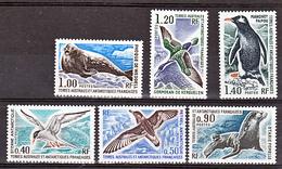 TAAF    55 60 Faune Des TAAF  - 25% De Cote   Neuf ** MNH Sin Charmela Cote 80 - Französische Süd- Und Antarktisgebiete (TAAF)