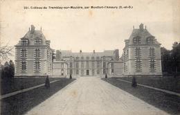 CPA CHATEAU DE TREMBLAY SUR MAULDRE PAR MONTFORT L'AMAURY - France