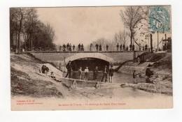 Environs De Troyes - La Décharge Du Canal Pont Hubert - 10 - - Troyes
