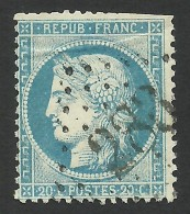 France, 20 C. 1871, Sc # 57, Mi # 34a, Used. - 1871-1875 Ceres