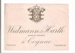 Etiquette  Widmann & Harth à Cognac - - Autres