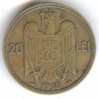 Romania 20 Lei 1930 - Rumania