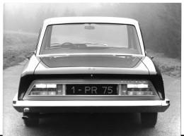 Photographie Originale CITROEN DS 21 Présidentielle 1968 - 1 PR 75  - Format 18x24 - Coches