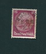451 Maréchal Hindembourg  ALLEMAGNE 1932 Oblitéré - Gebraucht