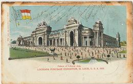 Louisiana Purchase Exposition St Louis 1904  Edit E. Frey 62 Pailletée Used NY To Guanabacoa Cuba 1905 - St Louis – Missouri