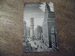 CPA De Times Square And Paramount BLDG, N - Timbre Des Années 1937 - Time Square