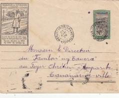 Madagascar Entier Postal PTT MANJAKANDRIANA 1929 - Madagascar (1889-1960)