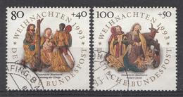 ALLEMAGNE 1993  Mi.nr.1707-1708 Weihnachten  OBLITÉRÉS-USED-GEBRUIKT - [7] République Fédérale