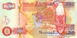 ZAMBIA 50 KWACHA 2007 P-37f UNC [ZM138g] - Zambia