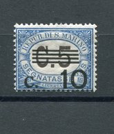 San Marino - 1936 - Segnatasse Sass. 47 ** MNH - Segnatasse
