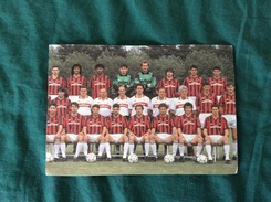 Cartolina Rosa Milan Campione D'Italia 1991-92 Con L'annullo 1° Giorno - Football