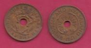 RHODESIA-NYASSALAND, 1961,  1 Penny VF, KM2,  C2869 - Colonies