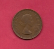 SOUTH AFRICA, 1956, Circulated Coin XF, 1 Pence, QE II, KM 46, C1436 - Zuid-Afrika