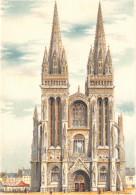 Illustrateur DUMARAIS - QUIMPER - La Cathédrale - M. Barré & J. Dayez - Illustrateurs & Photographes