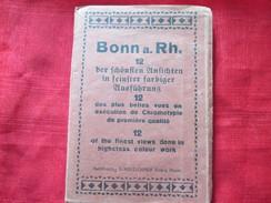 Bonn A Rhein (allemagne) Carnet De 12 Cartes Postales - Ansichtskarten