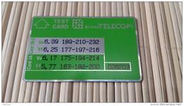 Landis & Gyr Card UK Probaly New Not Sure Rare - Ver. Königreich
