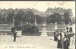 75  Paris L'Homme  Aux Oiseaux  CPA 1905 - Straßenhandel Und Kleingewerbe
