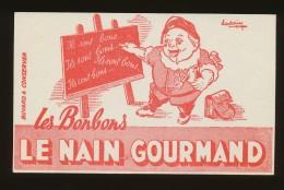 Buvard - LE NAIN GOURMAND - N