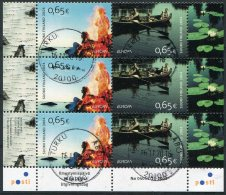2004 Finland Europa Part Sheetlet Cds Very Fine Used - Finlande