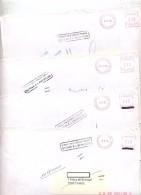 Lot 4 Lettre Cachet N'habite Pas Retour - Marcophilie (Lettres)