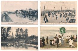 Nord, Malo Les Bains, Valenciennes, Watten, Gravelines, Mont Des Cats, Tourcoing  Lot De 11 Cartes - Non Classés