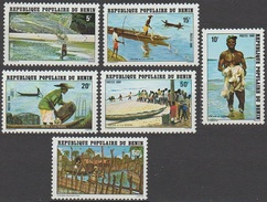 Bénin 1980 N° 497-502 MNH Pèche Au Bénin  (D10) - Benin - Dahomey (1960-...)