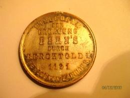 Switzerland: Médaille 700e Anniversaire De La Fondation De Berne - Zonder Classificatie