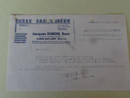 """Cosne Sur Loire Nievre """" Belle Jardiniere """"Jacques Dubois 1952 - Textile & Vestimentaire"""