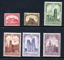 Belgique COB 267/72 ** - Neufs