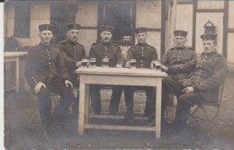 Soldaten 1914 Feldpostkarte Stempel Magdeburg - Magdeburg