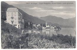 BRISSAGO: Grand Hotel E Vista Generale 1920 - TI Tessin