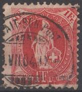 Suisse 1882-1904 N° 79 Helvetia Debout  (D4) - Used Stamps