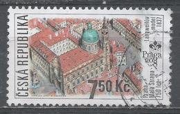 Czech Republic 2007. Scott #3337 (U) Model Of Mala Strana Area Of Prague, By Antonin Langweil - Tchéquie